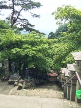 大山寺登り階段