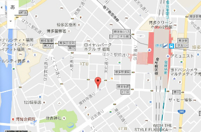 博多駅前地図