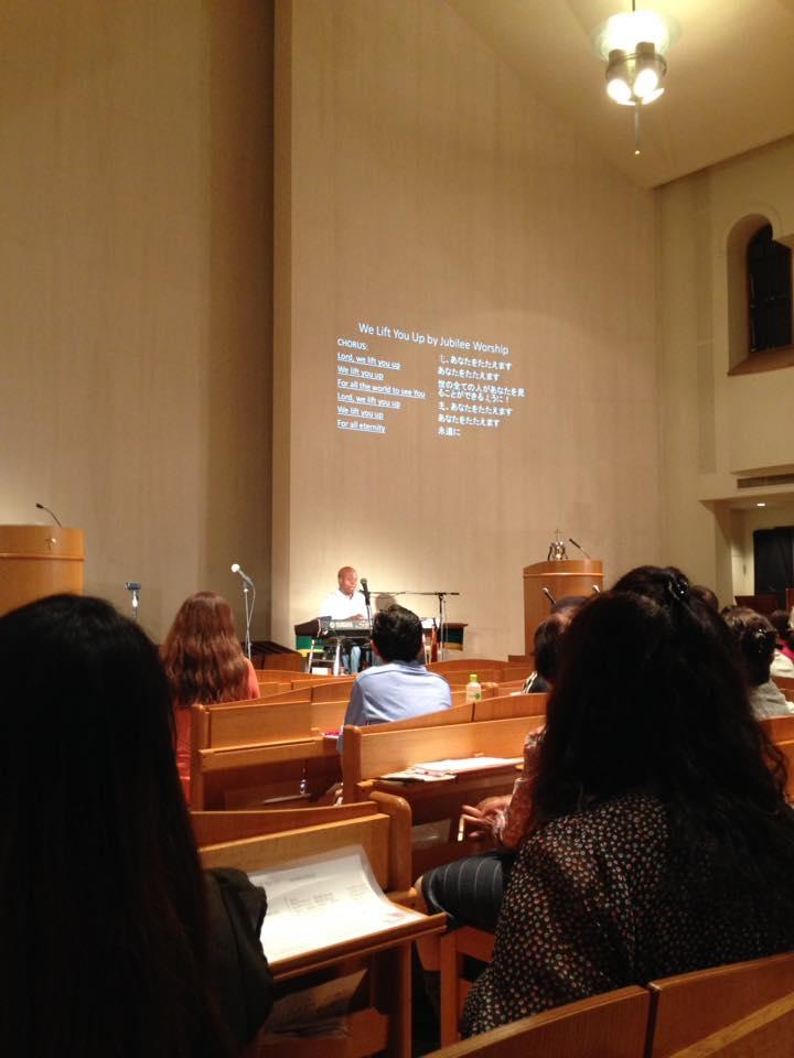 Pasadena concert - workshop