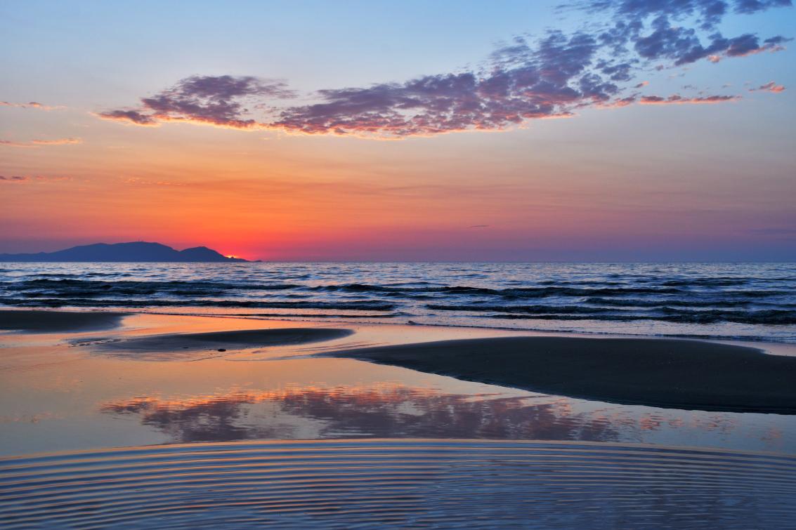 サンセットビーチ夕景3