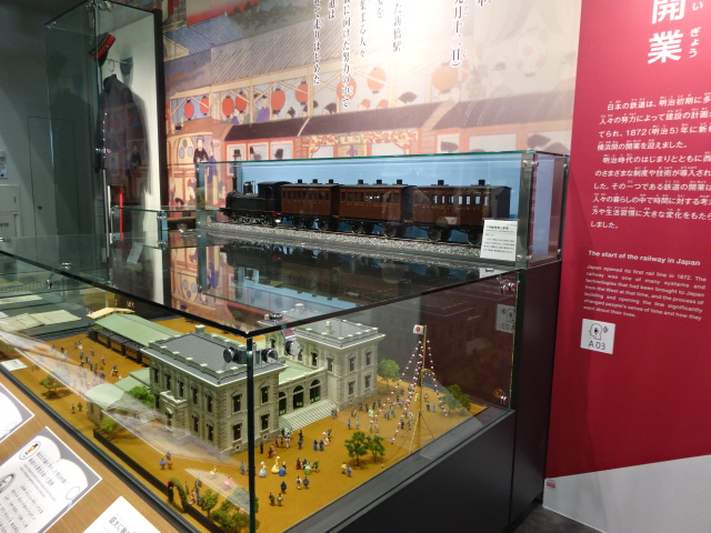 旧新橋駅模型