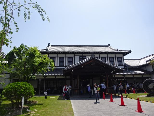 旧二条駅舎1