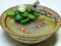 Koi Bowl with Water Lily Miyuki Kobayashi
