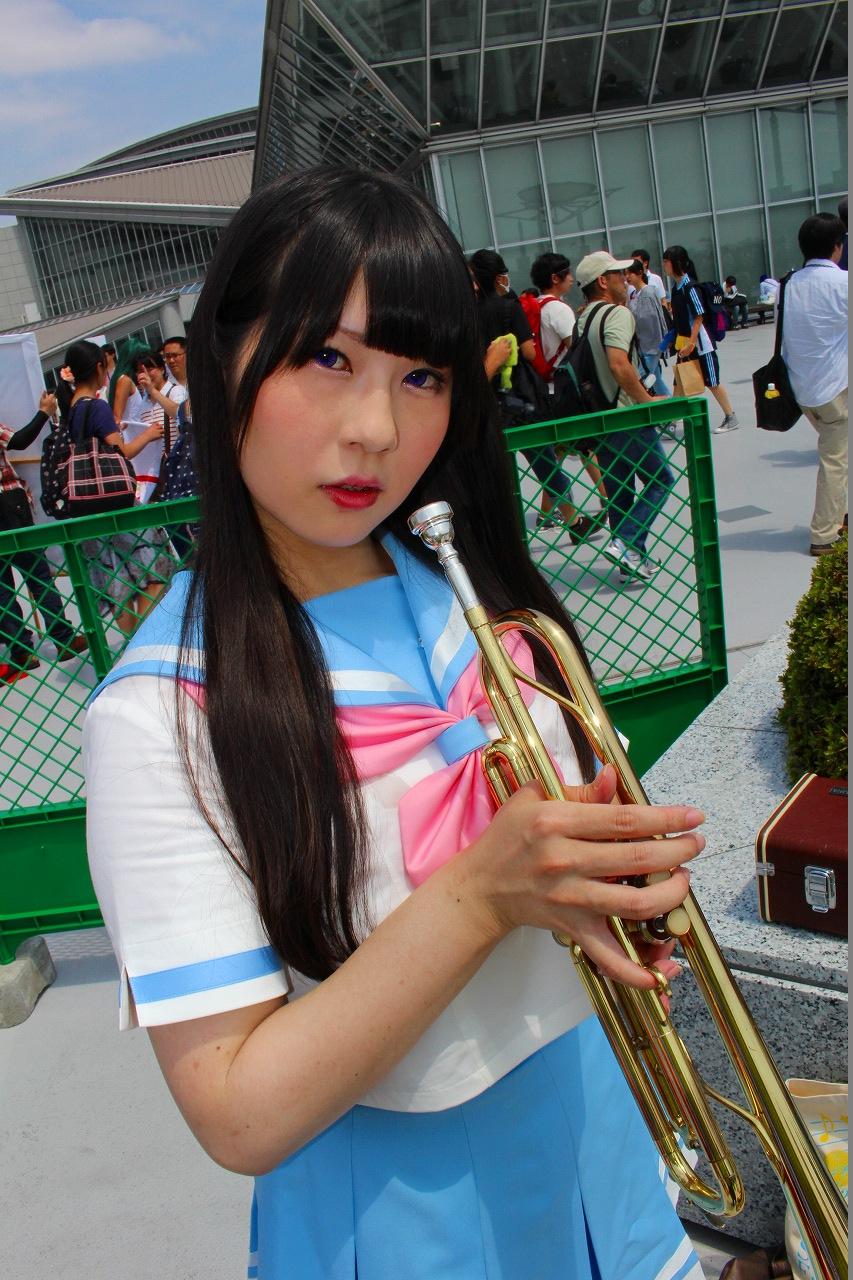 響け!ユーフォニアム 高坂麗奈 夏服 コミケ C90 コスプレ 02