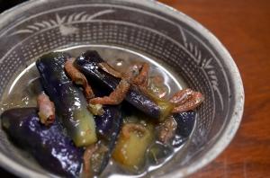 2016/08/27/茄子と干し海老の煮物