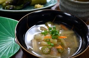 2016/08/31/料理教室11_乾物と夏野菜のお味噌汁