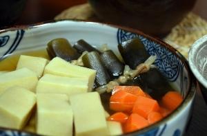 2016/09/08/高野豆腐の煮物