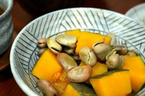 2016/09/13/南瓜と干し空豆のいりこ煮