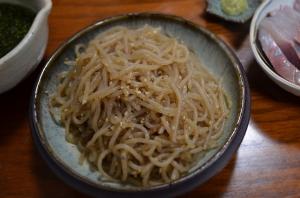 2016/10/15/糸蒟蒻のきんぴら
