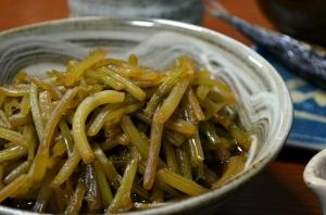 2016/10/23/芋茎の煮物