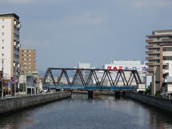 JR東西線の新しい橋01