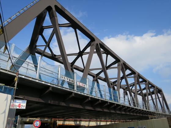 JR東西線の新しい橋02