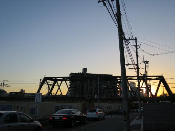 JR東西線の新しい橋12