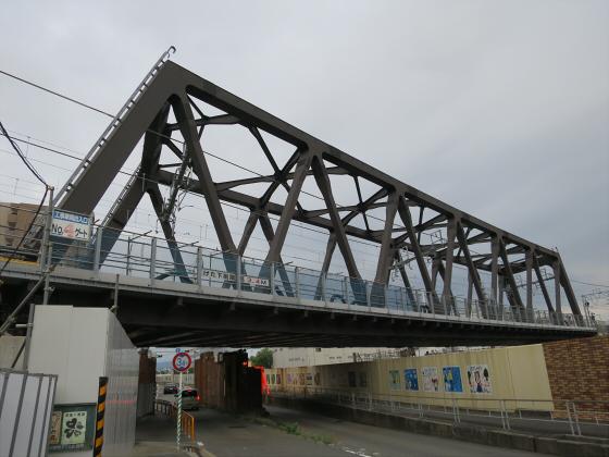 JR東西線の新しい橋13