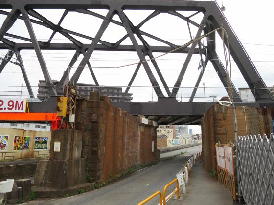 JR東西線の新しい橋17