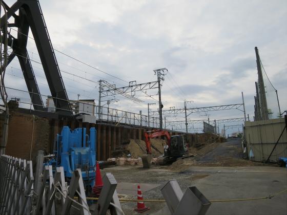 JR東西線の新しい橋18
