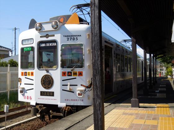 和歌山電鐵のニタマ駅長22