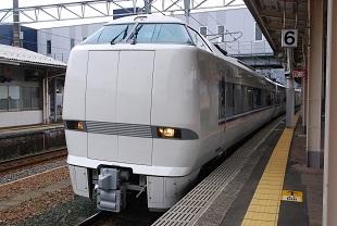 ヨンダー顔西行敦賀駅