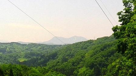 中ノ俣から権現岳