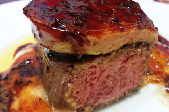 牛フィレ肉のフォアグラロッシーニ
