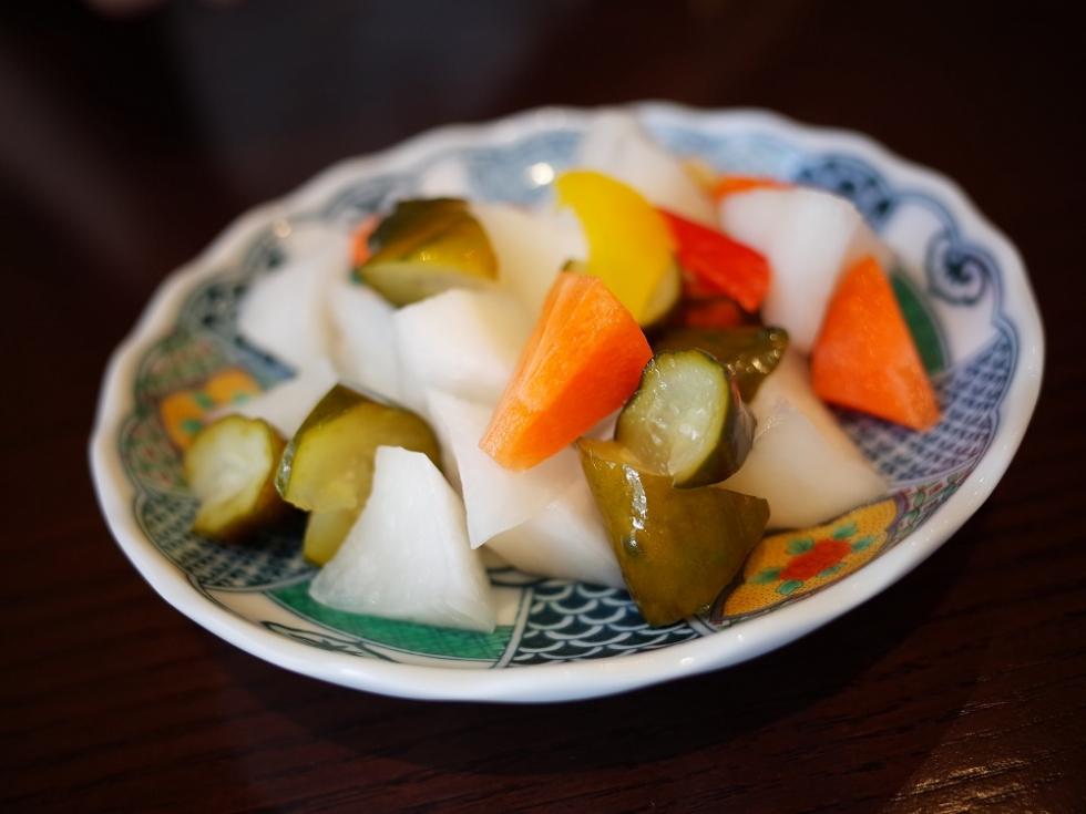 1 野菜の甘酢漬け (2)