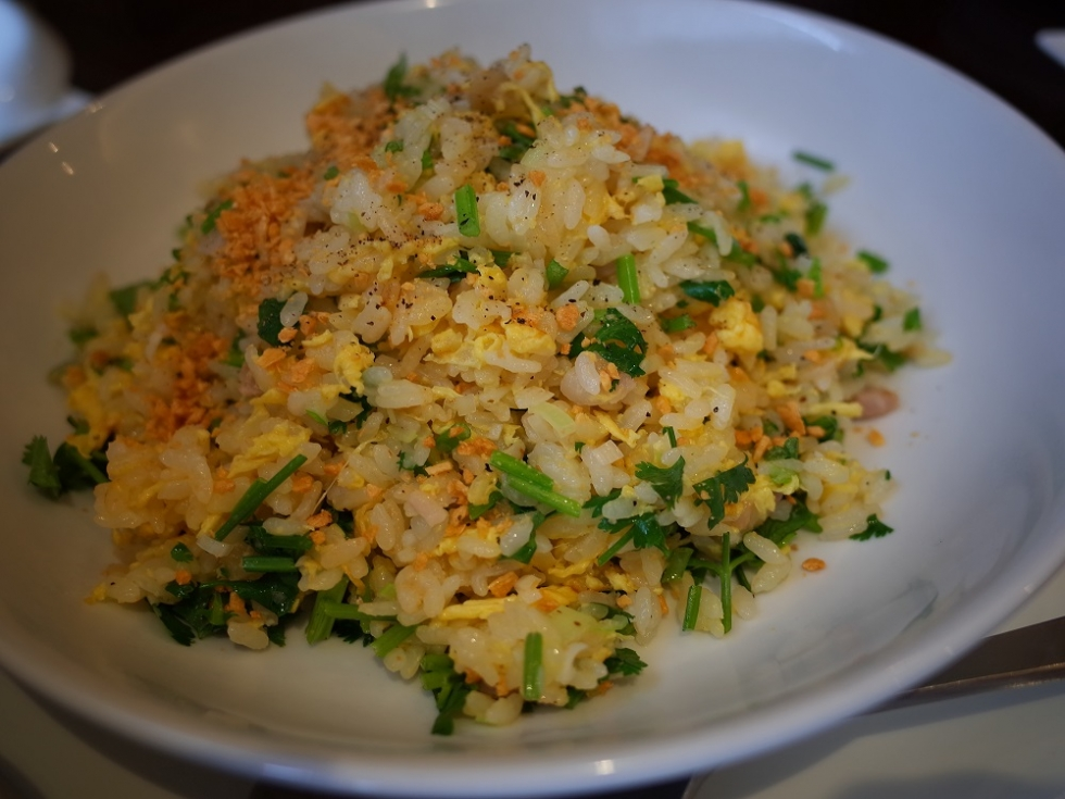 5 パクチー炒飯 (5)