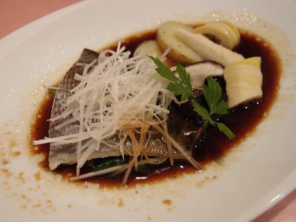九州産いさきと野菜の蒸し物 (5)