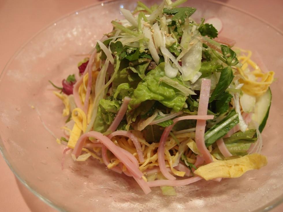 16種彩り野菜の冷やし中華 (2)