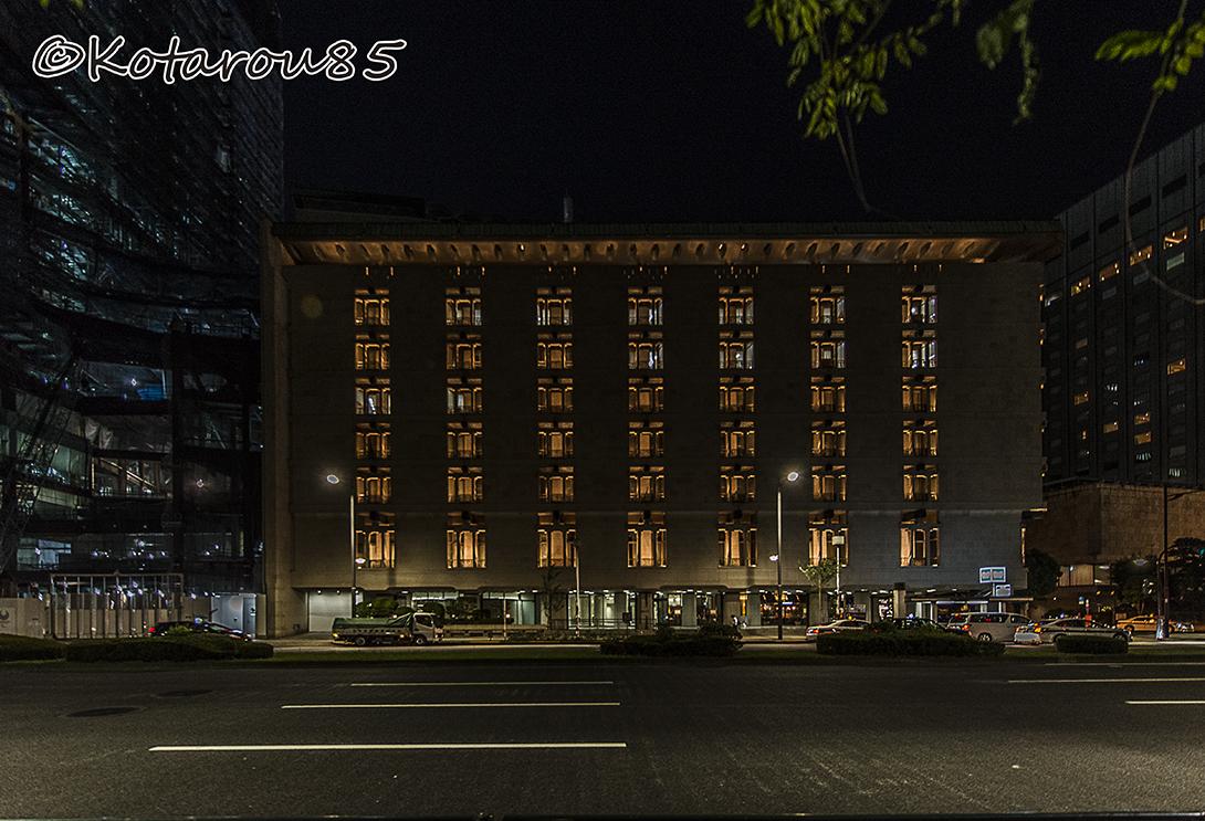 深夜の帝国ホテル 20160811