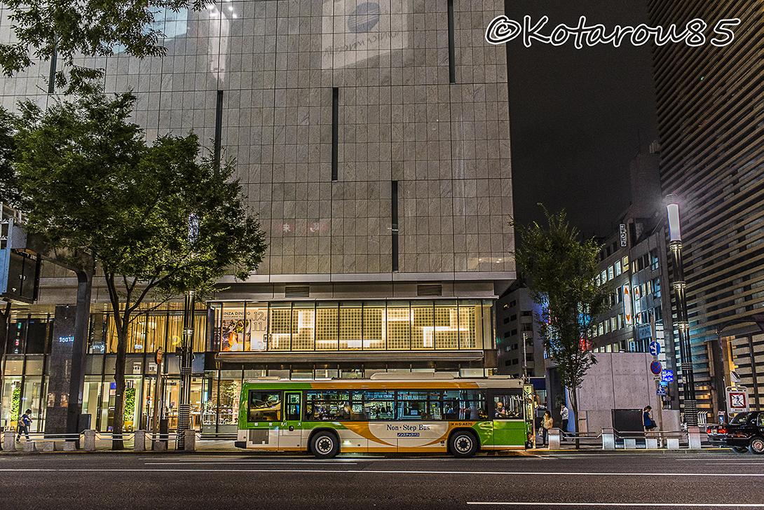 4丁目のバス停 20160814