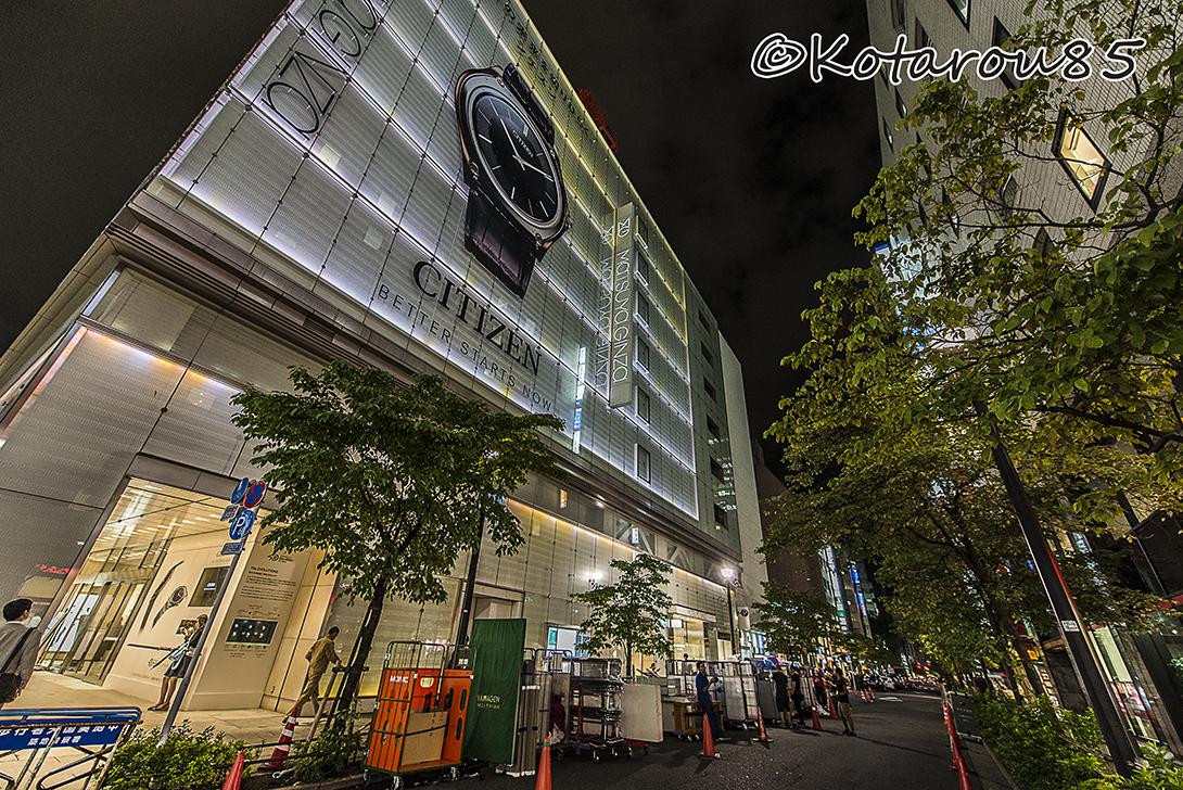 銀座松屋 20160825