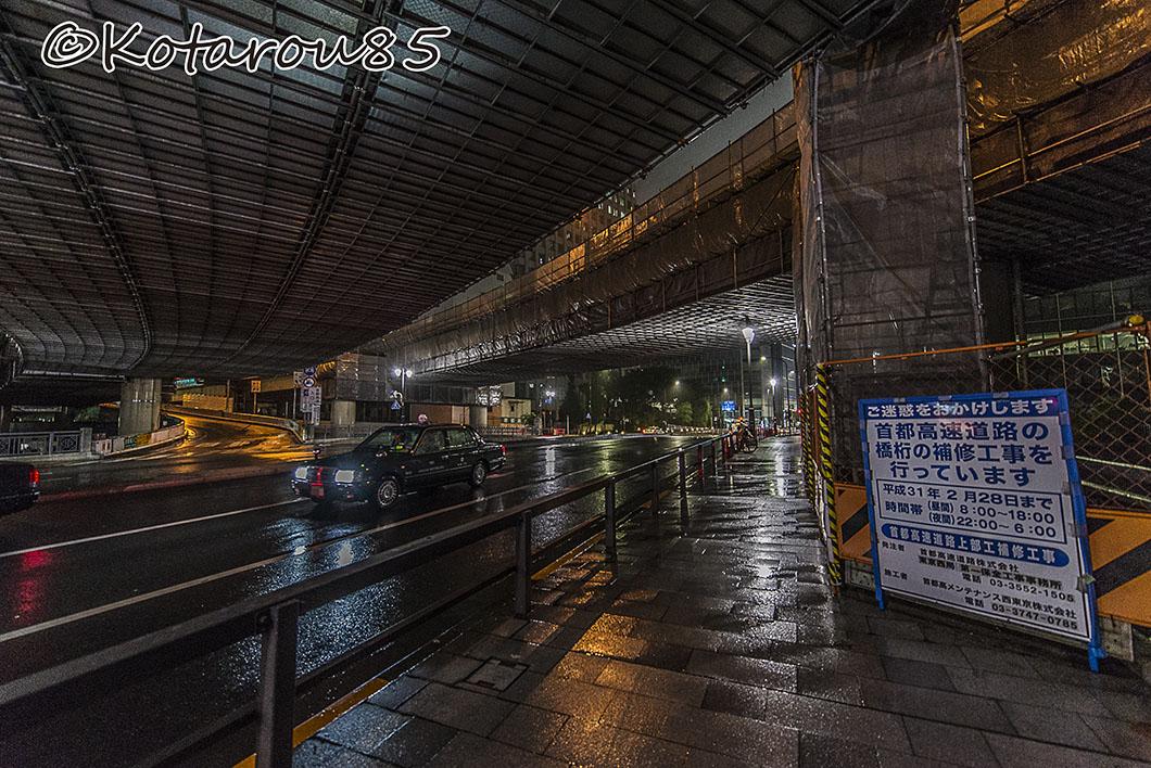 雨の外堀通り2 20160921