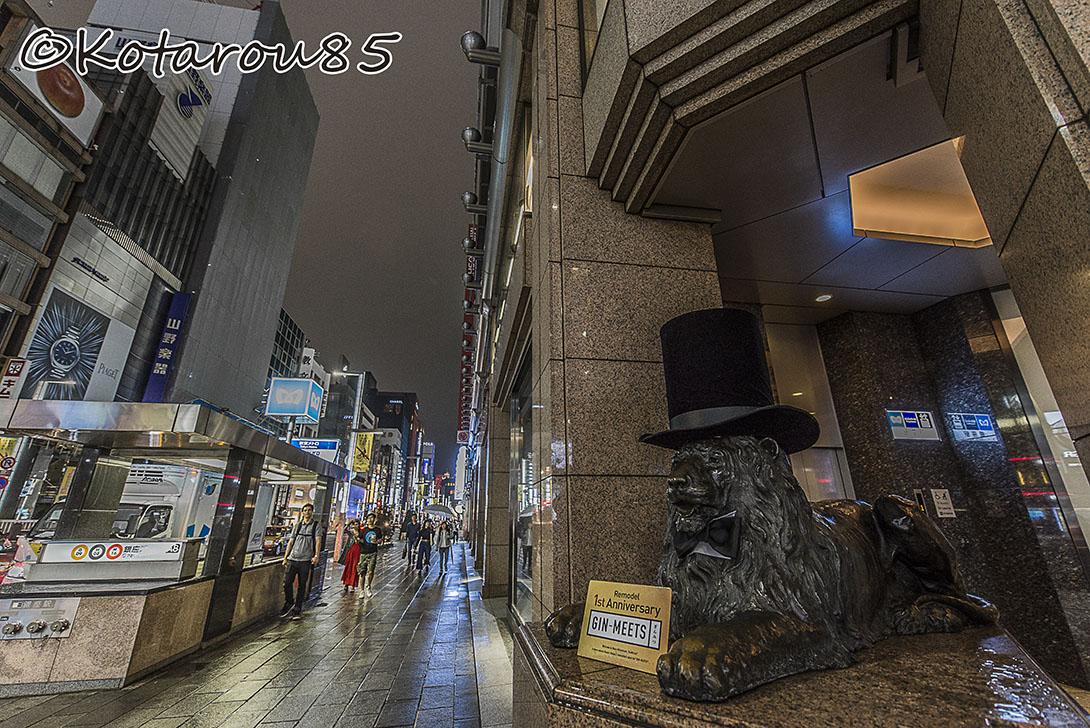 雨の三越銀座店2 20160922