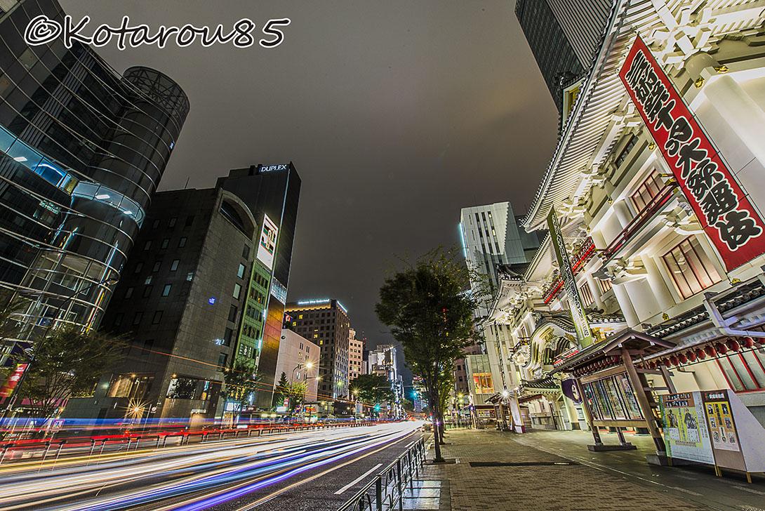 歌舞伎座 光の競演 20161010