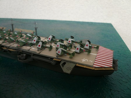 模型を作ろう 1/700日本海軍軽空...