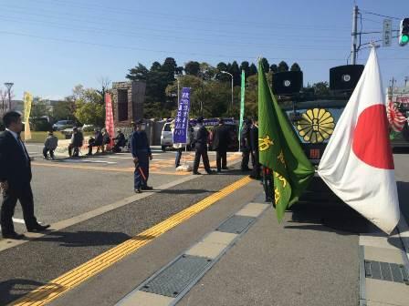 第4弾不二越訴訟を支援する中核派に対する抗議行動5