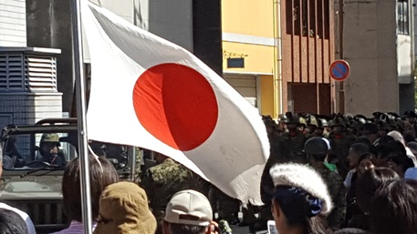 平成二十八年福井自衛隊市中パレード3