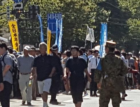 平成二十八年福井自衛隊市中パレード7