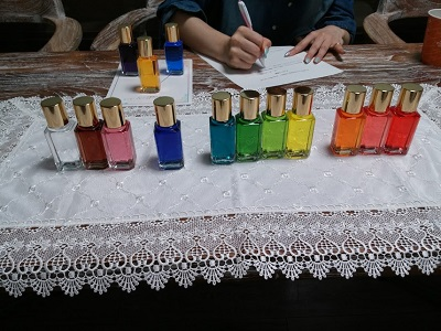 カラーセラピーの個人セッション