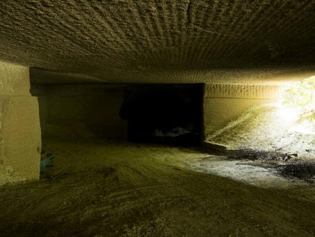 大谷石地下採掘場跡05