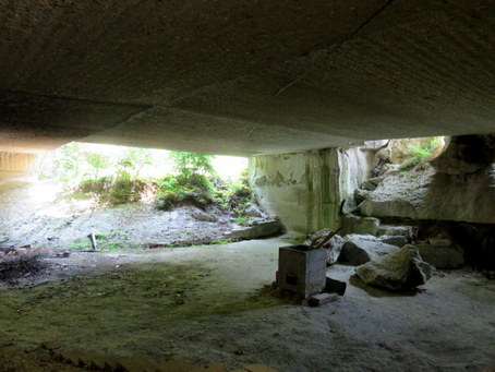 大谷石地下採掘場跡06