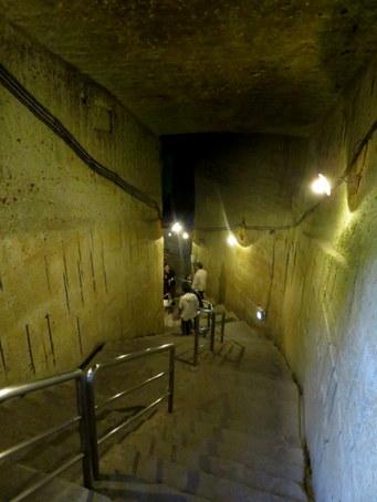 大谷石地下採掘場跡12