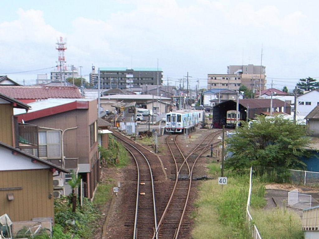 竜ケ崎駅遠景