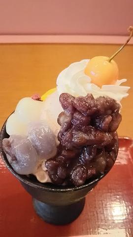 稲さくらパフェ (4)