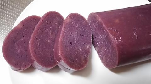 紫いもこっぱもち (4)