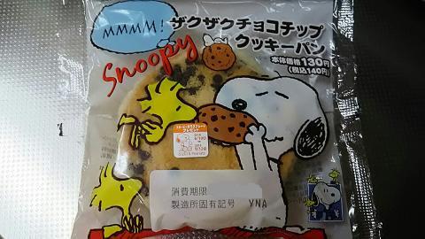 ザクザクチョコチップクッキーパン (1)