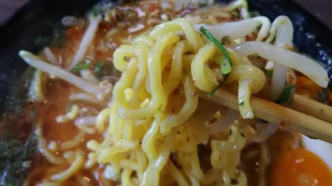 キーマカレー味噌ラーメン (4)