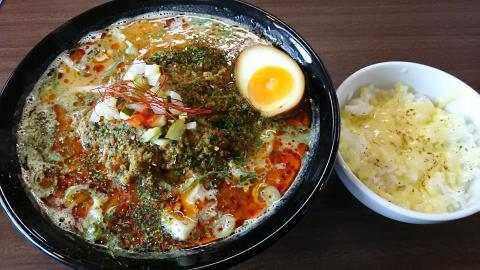 キーマカレー味噌ラーメン (7)