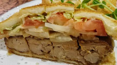 いちカツサンド野菜 (2)