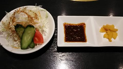 ひら山焼肉ランチ (1)